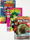 Modern Age (1980-Present):Miscellaneous, Marvel Modern Age Comics Group of 55 (Marvel, 1980s-2000s) Condition: Average NM-.... (Total: 55 Comic Books)