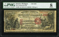 Detroit, MI - $5 1875 Fr. 405 The Commercial National Bank Ch. # 2591 PMG Very Good 8