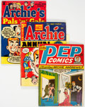Silver Age (1956-1969):Humor, Archie-Related Comics Group of 8 (Archie, 1950s-60s) Condition: Average VG.... (Total: 8 Comic Books)