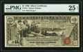 Large Size:Silver Certificates, Fr. 224 $1 1896 Silver Certificate PMG Very Fine 25 EPQ.. ...