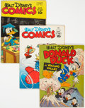 Golden Age (1938-1955):Funny Animal, Golden Age Disney-Related Comics Group of 3 (Various Publishers, 1950s).... (Total: 3 Comic Books)