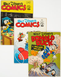 Golden Age Disney-Related Comics Group of 3 (Various Publishers, 1950s).... (Total: 3 Comic Books)