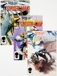 Web of Spider-Man Group of 46 (Marvel, 1985-95) Condition: Average NM-.... (Total: 46 Comic Books)