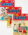 Silver Age (1956-1969):Humor, Laugh Comics Group of 28 (Archie, 1958-66) Condition: Average FN-.... (Total: 28 Comic Books)