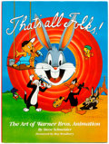 Books:General, Warner Bros. Animation Books Group of 3 (Various, 1988-98) Condition: Average NM-.... (Total: 3 Items)