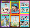 Baseball Cards:Sets, 1975 Topps Baseball Near Set (659/660). ...