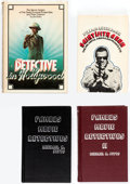 Books:Hardcover, Hollywood Detective Book Group of 8 (Various, 1972-91) Condition: Average VF.... (Total: 8 Items)