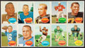 Football Cards:Sets, 1960 Topps Football Complete Set (132). ...