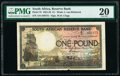 World Currency, South Africa South African Reserve Bank 1 Pound 26.9.1921 Pick 75 PMG Very Fine 20.. ...