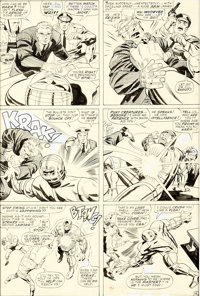 Jack Kirby and Vince Colletta Thor #140 Story Page 4 Original Art (Marvel Comics, 1967)