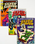 Silver Age (1956-1969):Superhero, The Silver Surfer Group of 7 (Marvel, 1968-69) Condition: Average VF.... (Total: 7 Comic Books)