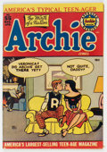 Golden Age (1938-1955):Humor, Archie Comics #55 (Archie, 1952) Condition: FN....