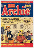 Golden Age (1938-1955):Humor, Archie Comics #56 (Archie, 1952) Condition: VG....