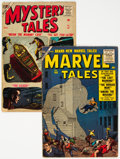Silver Age (1956-1969):Superhero, Marvel Tales and Mystery Tales Group of 2 (Atlas, 1956-57) Condition: Average VG.... (Total: 2 Comic Books)