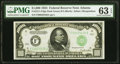 Fr. 2211-F $1,000 1934 Dark Green Seal Federal Reserve Note. PMG Choice Uncirculated 63 EPQ