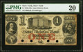 New York, NY- Saint Nicholas Bank $1 May 6, 1862 G2b PMG Very Fine 20, 4 POCs