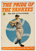 Golden Age (1938-1955):Adventure, The Pride of the Yankees #nn (Magazine Enterprises, 1949) Condition: VG+....