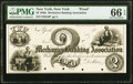 Obsoletes By State:New York, New York, NY- Mechanics Banking Association $2 18__ G8 Proof PMG Gem Uncirculated 66 EPQ.. ...