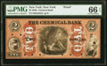Obsoletes By State:New York, New York, NY- Chemical Bank $2 18__ G88a Proof PMG Gem Uncirculated 66 EPQ.. ...