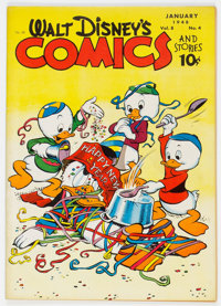 Walt Disney's Comics and Stories #88 (Dell, 1948) Condition: FN