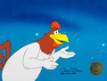 Animation Art:Production Cel, Superior Duck Foghorn Leghorn Signed Production Cel (Warner Brothers, 1996)....