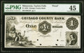 Taylors Falls, MN- Chisago County Bank $1 18__ as G2 Hewitt B840-D1 Proof PMG Choice Extremely Fine 45