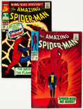 Silver Age (1956-1969):Superhero, The Amazing Spider-Man #50 and Annual #4 Group (Marvel, 1967) Condition: Average VG.... (Total: 2 )