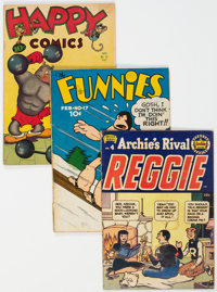 Golden Age Humor Group of 6 (Various Publishers, 1938-55).... (Total: 6 Comic Books)