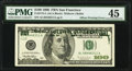 Partial Matte Back to Face Offset Error Fr. 2175-L $100 1996 Federal Reserve Note. PMG Choice Extremely Fine 45