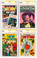 Silver Age (1956-1969):Miscellaneous, DC Silver-Modern Age Comics CGC-Graded Group of 7 (DC, 1966-81).... (Total: 7 Comic Books)