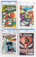 Modern Age (1980-Present):Miscellaneous, Marvel Modern Age Certified Group of 5 (Marvel, 1983-2011) CGC NM+ 9.6 White pages.... (Total: 5 )