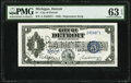 Obsoletes By State:Michigan, Detroit, MI- City of Detroit $1 April 27, 1933 Depression Scrip PMG Choice Uncirculated 63 EPQ.. ...