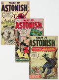Silver Age (1956-1969):Superhero, Tales to Astonish Group of 6 (Marvel, 1962-64) Condition: Average GD/VG.... (Total: 6 Comic Books)