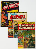 Golden Age (1938-1955):War, Golden to Silver Age War Related Comics Group of 12 (Various Publishers, 1952-60) Condition: Average VG.... (Total: 12 Comic Books)