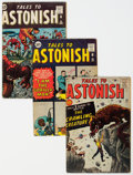 Silver Age (1956-1969):Superhero, Tales to Astonish Group of 8 (Marvel, 1961-62) Condition: Average VG.... (Total: 8 Comic Books)