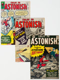 Silver Age (1956-1969):Superhero, Tales to Astonish Group of 7 (Marvel, 1963-64) Condition: Average VG/FN.... (Total: 7 Comic Books)