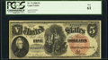 Large Size:Legal Tender Notes, Fr. 73 $5 1880 Legal Tender PCGS New 61.. ...
