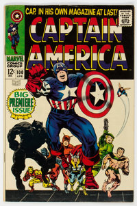 Captain America #100 (Marvel, 1968) Condition: FN