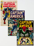 Silver Age (1956-1969):Superhero, Captain America #101-116 Group of 16 (Marvel, 1968-69) Condition: Average VF-.... (Total: 16 )