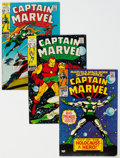 Silver Age (1956-1969):Superhero, Captain Marvel Group of 14 (Marvel, 1968-69) Condition: Average VG/FN.... (Total: 14 )