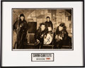 Music Memorabilia:Memorabilia, The Beatles - Pete Best Signed Lithograph and Silkscreen with Piece of Brick from the Cavern Club. ...