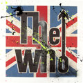 "Music Memorabilia:Original Art, The Who Mixed Media Limited Artwork Signed by Pete Townshend 28"" X 28""...."