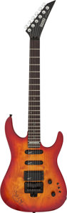 Musical Instruments:Electric Guitars, Tom Petty Signed Hohner Electric Guitar Serial #8813094. ...