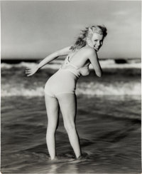 Marilyn Monroe Black and White Photo By Andre de Dienes