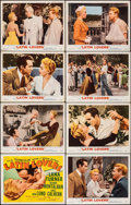 """Movie Posters:Romance, Latin Lovers (MGM, 1953). Fine/Very Fine. Lobby Card Set of 8 (11"""" X 14""""). Romance.. ... (Total: 8 Items)"""