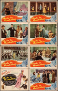 """Movie Posters:Musical, Music In Manhattan (RKO, 1944). Very Fine-. Lobby Card Set of 8 (11"""" X 14""""). Musical.. ... (Total: 8 Items)"""