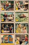 """Movie Posters:Western, My Friend Flicka (20th Century Fox, 1943). Very Fine-. Lobby Card Set of 8 (11"""" X 14"""") with Original Envelope. Western.. ... (Total: 9 Items)"""