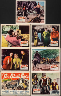 The Black Rose & Other Lot (20th Century Fox, 1950). Fine/Very Fine. Title Lobby Cards (2) & Lobby Cards (11) (1...