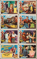 "Movie Posters:Adventure, Buccaneer's Girl (Universal International, 1950). Very Fine-. Lobby Card Set of 8 (11"" X 14""). Adventure.. ... (Total: 8 Items)"