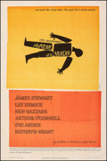 "Movie Posters:Drama, Anatomy of a Murder (Columbia, 1959). Fine- on Linen. One Sheet (27"" X 41""). Saul Bass Artwork. Drama.. ..."